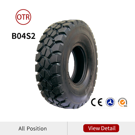 1800R33 2100R35 2400R35 OTR Tires for Regid Dump Trucks