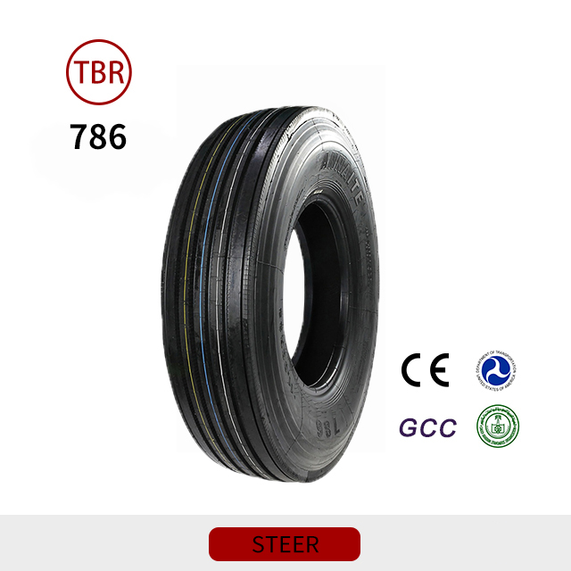 786 Steer 295 80R22.5 Tubeless Truck Tire