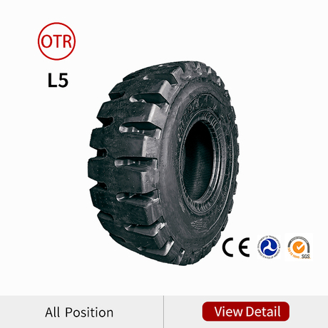L5 OTR tires for loaders and dozers